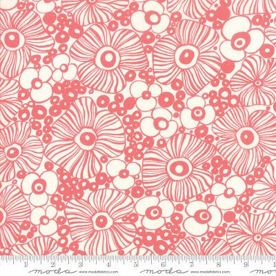Moda Botanica Porcelain Pink 11842 11 Yardage