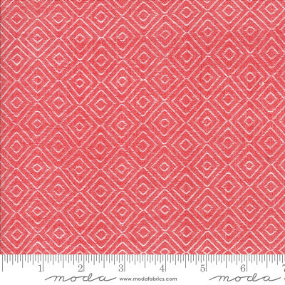 Moda Bonnie Camille Diamond Red 12405 17 Yardage