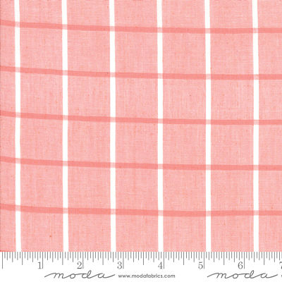 Moda Bonnie Camille Windowpane Pink 12405 21 Yardage
