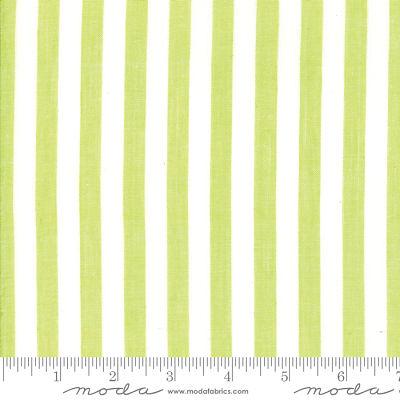 Moda Bonnie Camille Stripe Green 12405 40 Yardage