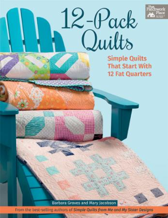 12 Pack Quilts Book