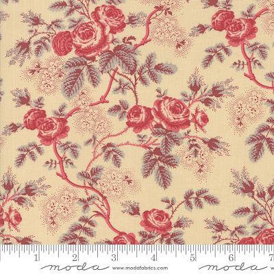 Moda La Rose Rouge Oyster 13880 14 Yardage