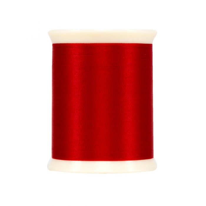 Superior MicroQuilter Spool - 7016 Bright Red