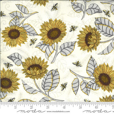 Moda Bee Grateful Parchment 19962 11 Yardage