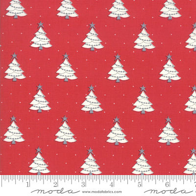 Moda Country Christmas Cardinal Red 2961 14 Yardage