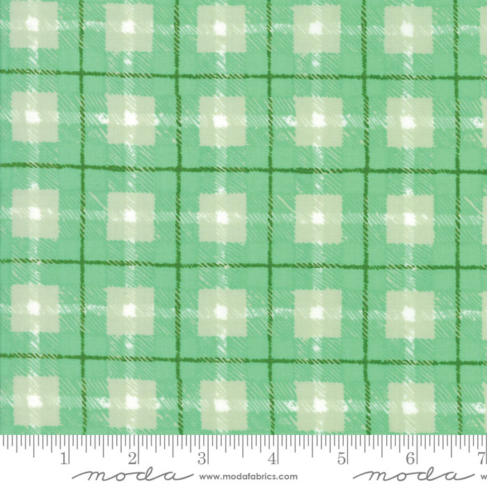 Moda Hazelwood Mint 36014 13 Yardage