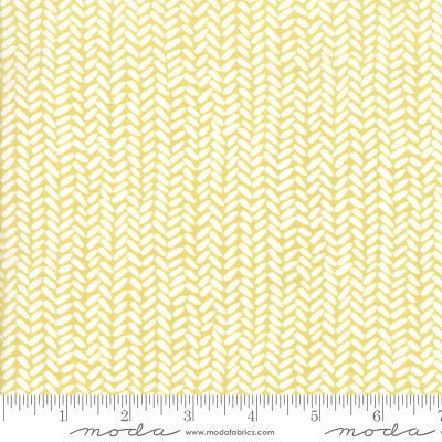 Moda Goldenrod Herringbone Gold 36055 17 Yardage