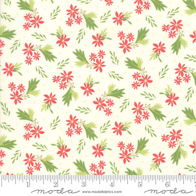 Moda Summer Sweet Ivory 37581 11 Yardage