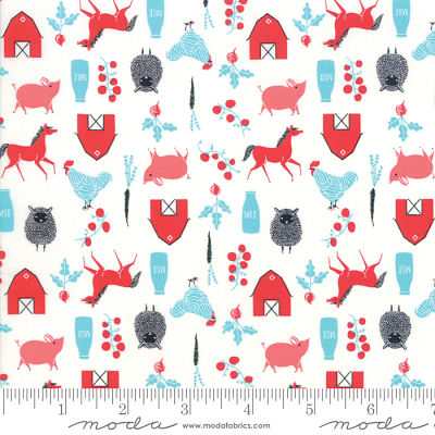 Moda Farm Charm Multi 48294 11 Yardage