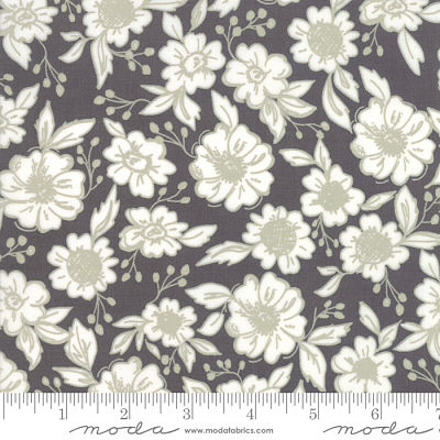 Moda Bloomington Charcoal 5111 13 Yardage