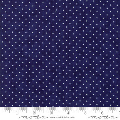 Moda Essentially Yours Liberty Blue 8654 39 Yardage
