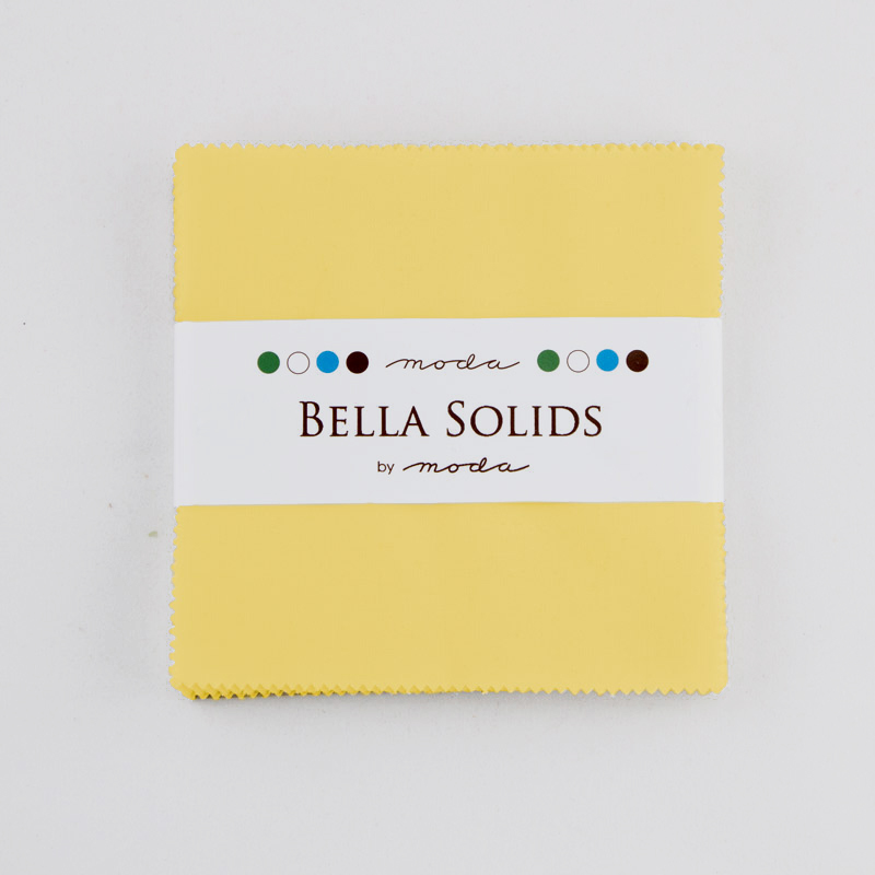 Solids Charm Pack - 30s Yellow 9900 23S