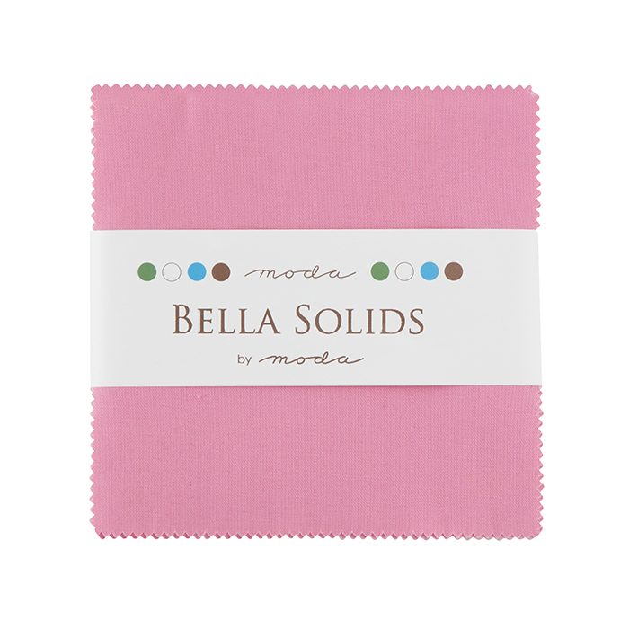 Solids Charm Pack - 30s Pink 9900 27