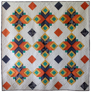 Bohemian Quilt Pattern PDF Version