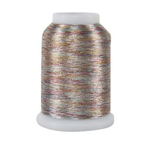 Metallics MINI Cone - 031 Varigated Silver 1090 yd