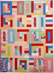 Strip This Quilt!  Jelly Roll Quilt Pattern