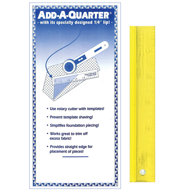 Add A Quarter Ruler 6 inch