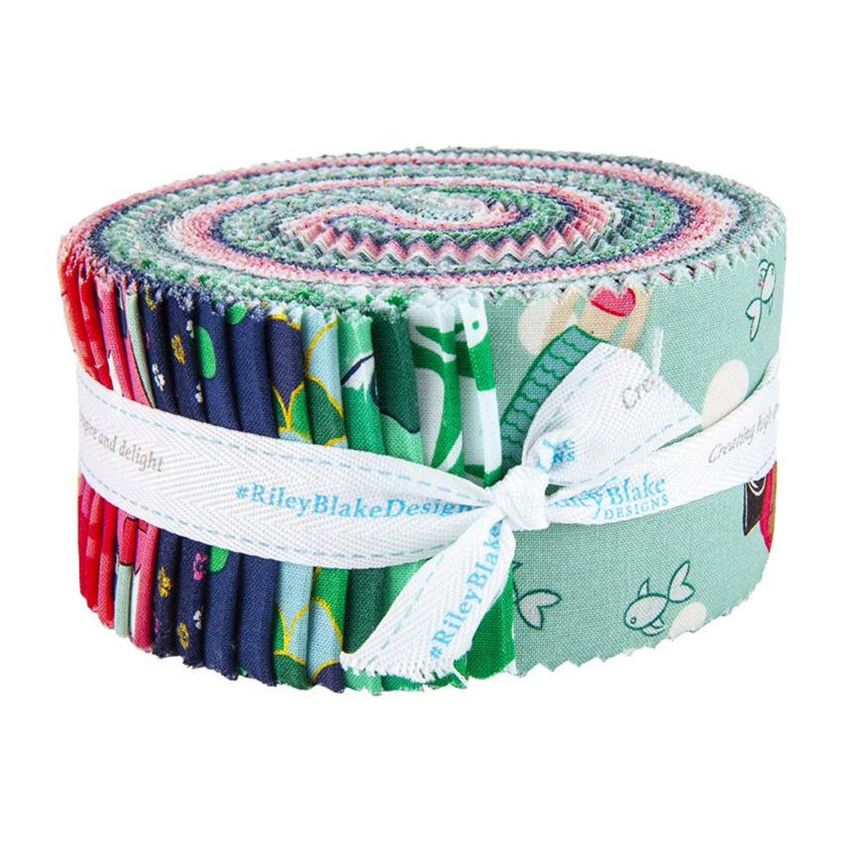 Riley Blake Jelly Roll - Ahoy Mermaids by Melissa Mortenson