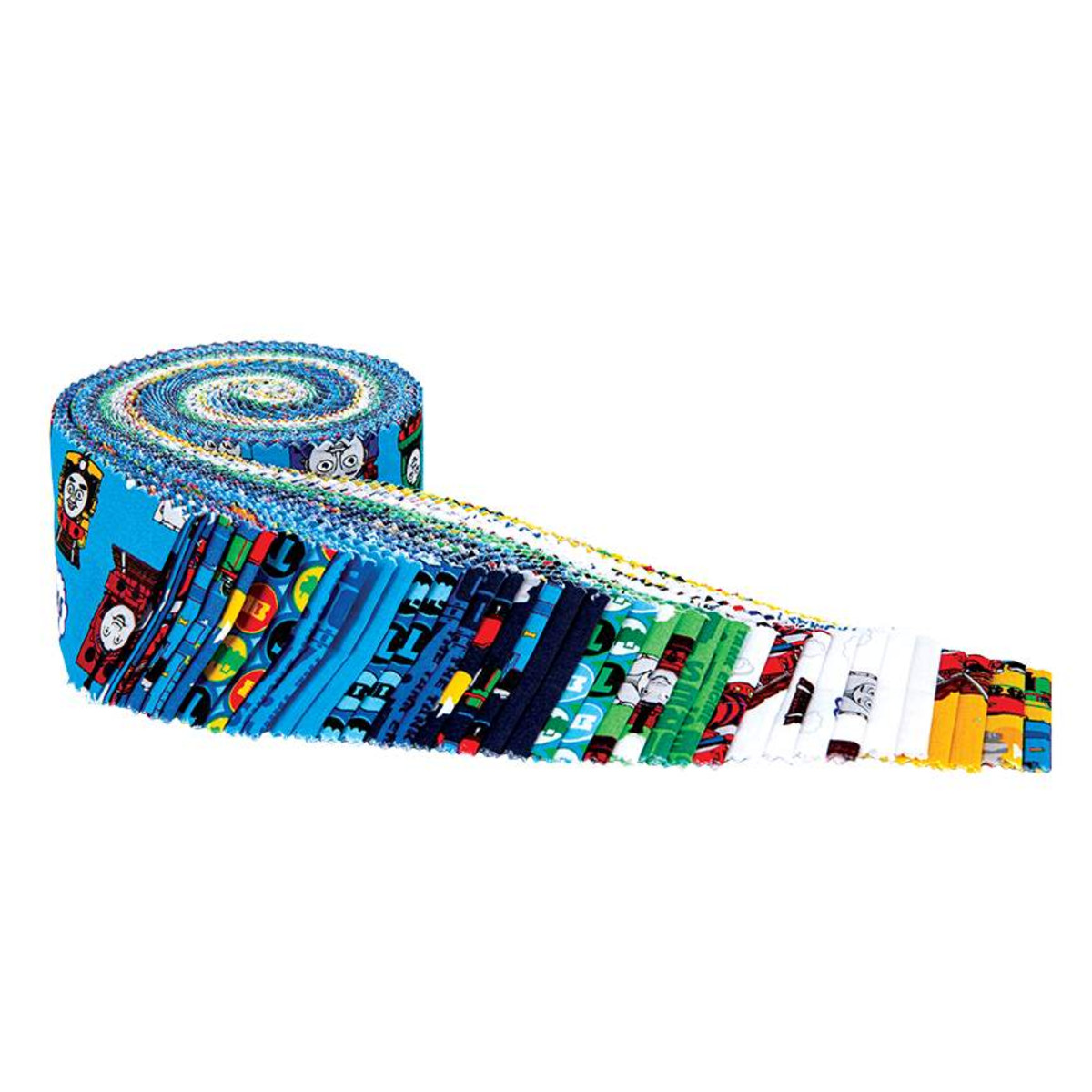 Riley Blake Jelly Roll - All Aboard with Thomas & Friends