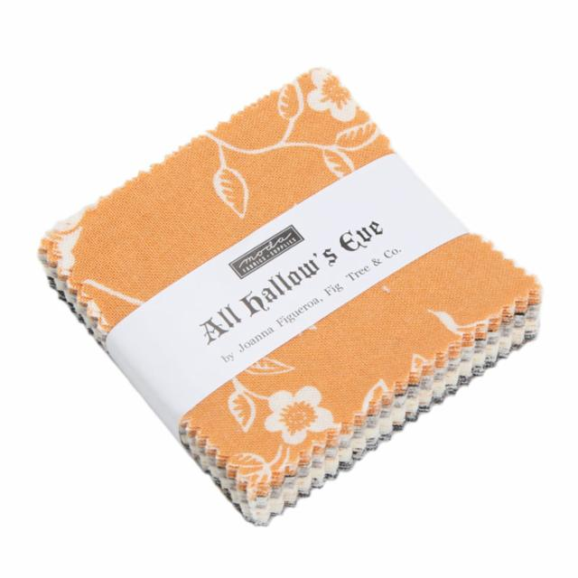 Moda Mini Charm - All Hallows Eve by Fig Tree Quilts