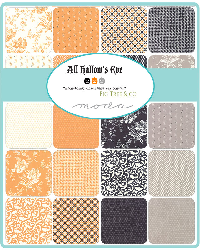 Moda Layer Cake - All Hallows Eve by Fig Tree Quilts