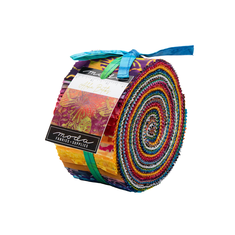 Moda Jelly Roll - Aloha Batiks by Moda