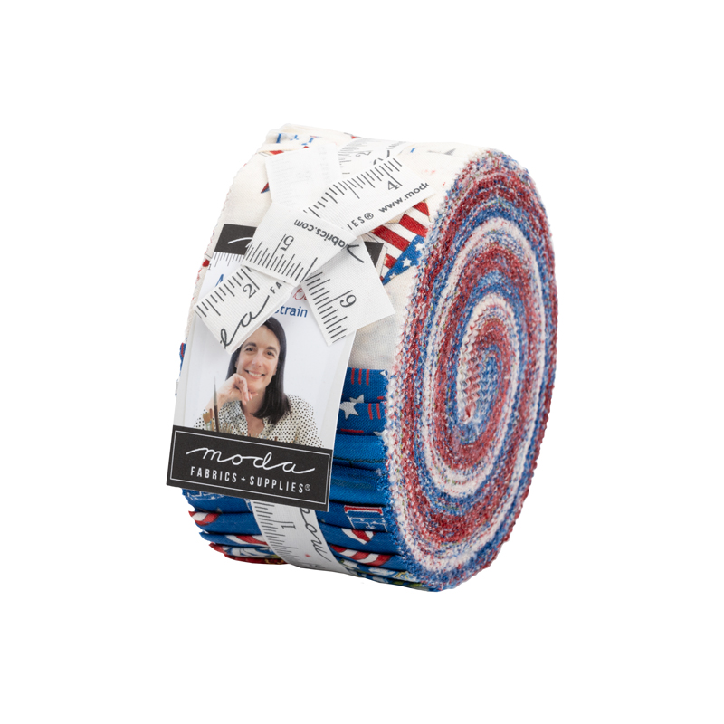 Moda Jelly Roll - America The Beautiful by Deb Strain