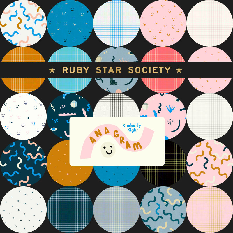Moda Layer Junior Cake - Ruby Star Society ANAGRAM by Kimberly Kight
