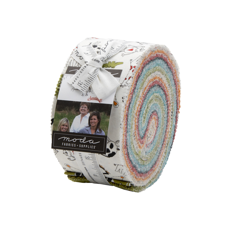 Moda Jelly Roll - Animal Crackers by Sweetwater