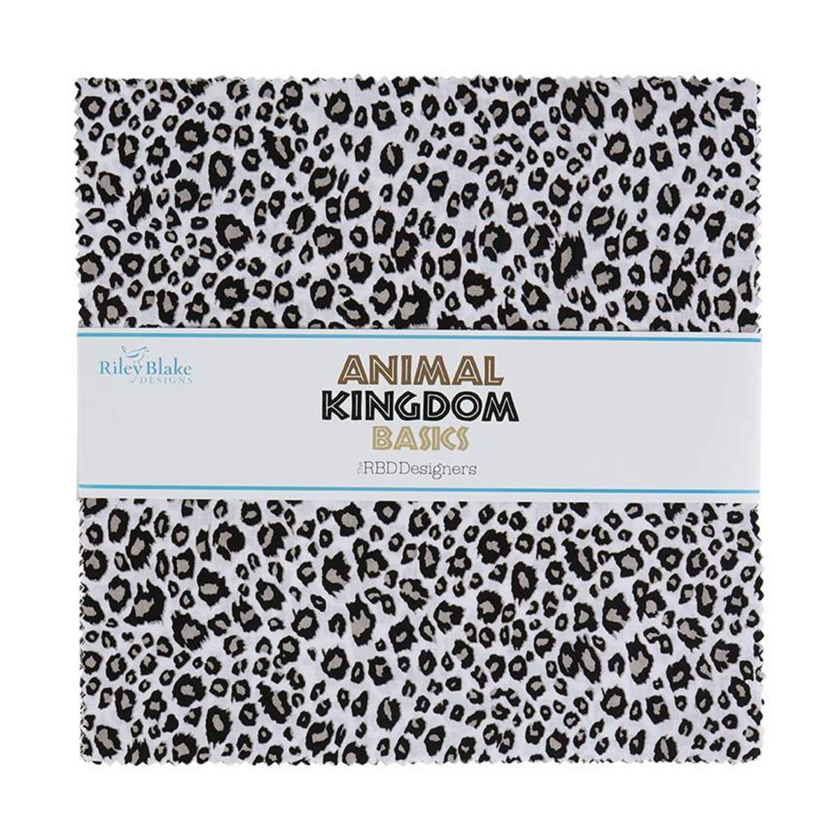 Riley Blake Layer Cake - Animal Kingdom by The RBD Designers