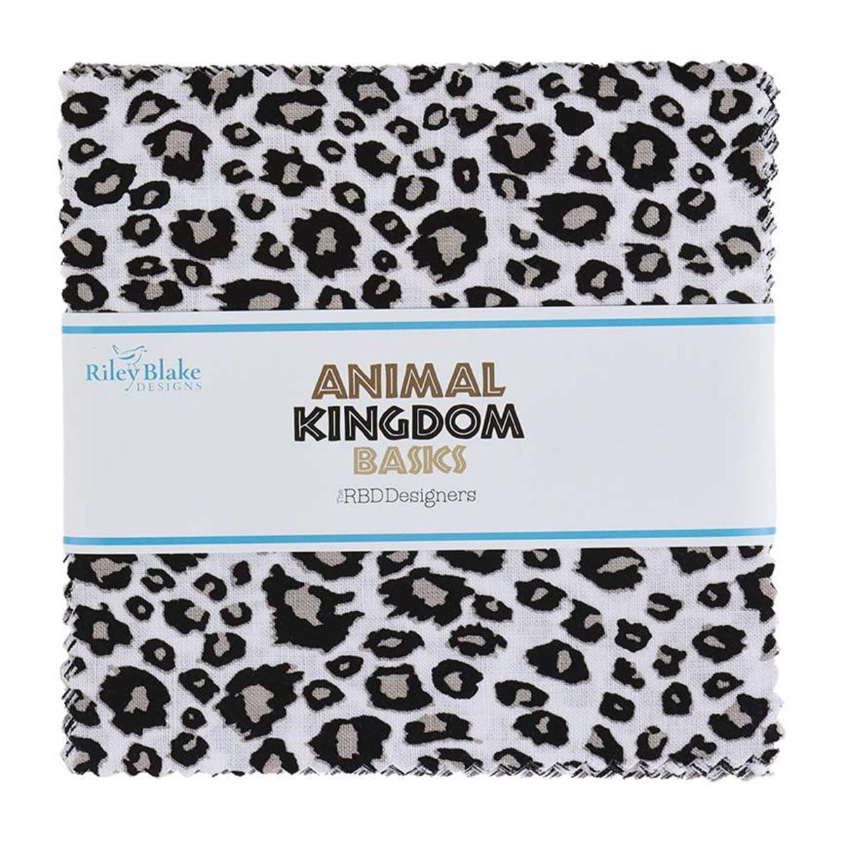 Riley Blake Charm Pack - Animal Kingdom by The RBD Designers