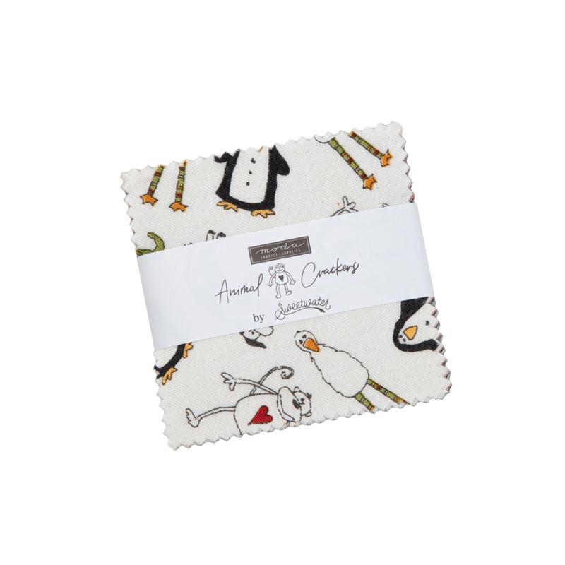 Moda Mini Charm - Animal Crackers by Sweetwater
