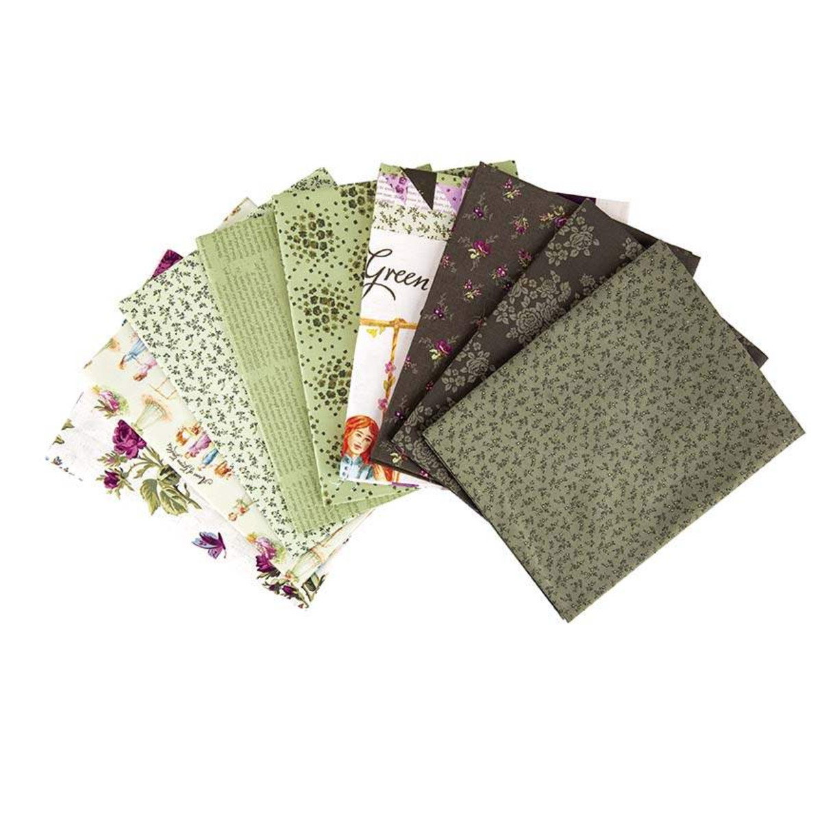 Riley Blake One Yard Bundle - Anne of Green Gables Parchment