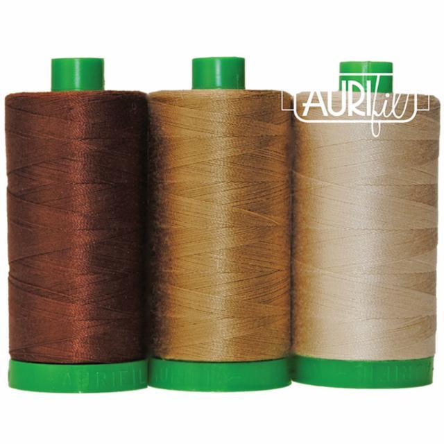 Aurifil Color Builder 40wt Pangolin Brown