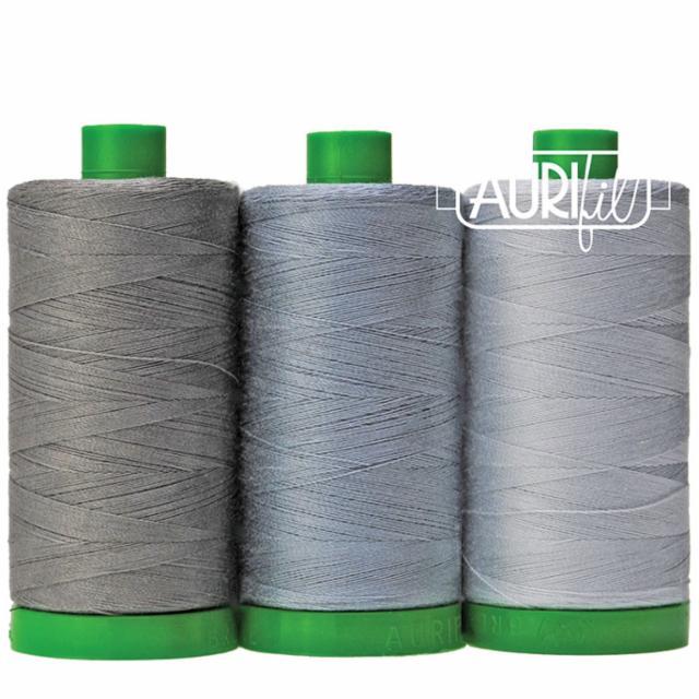 Aurifil Color Builder 40wt Elephant Gray