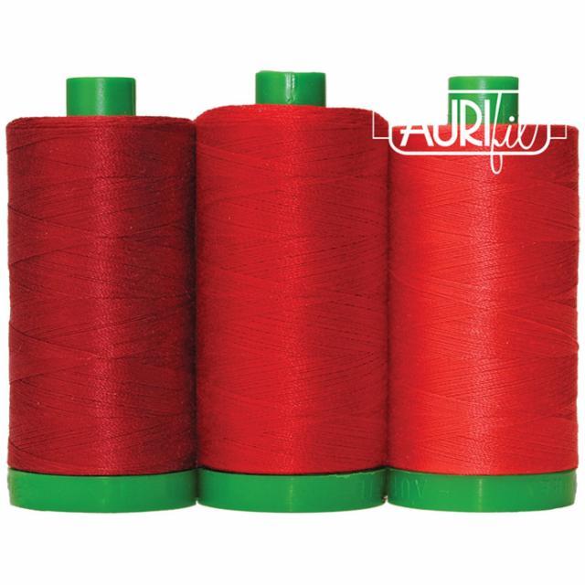 Aurifil Color Builder 40wt Panda Red