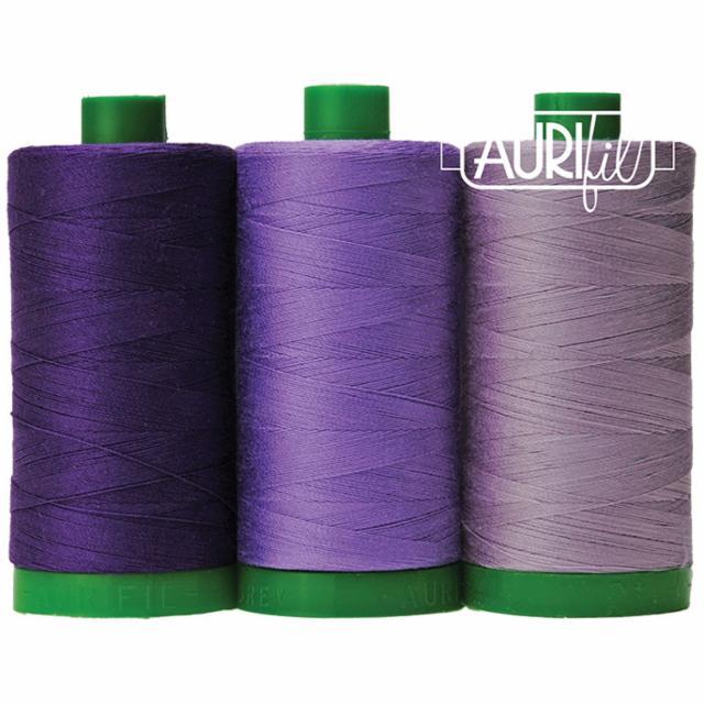 Aurifil Color Builder 40wt Gorilla Purple