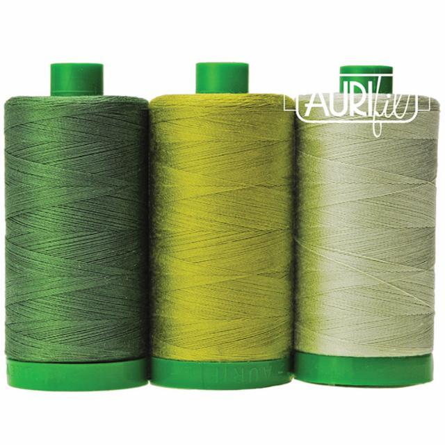 Aurifil Color Builder 40wt Turtle Green