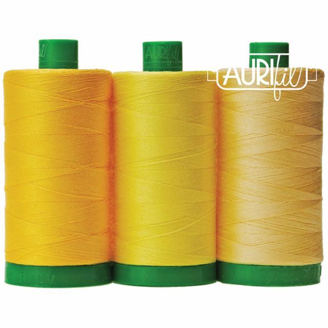 Aurifil Color Builder 40wt Wild Dog Yellow