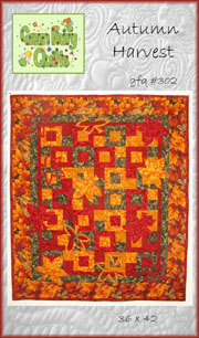 Autum Harvest Wall Hanging Pattern