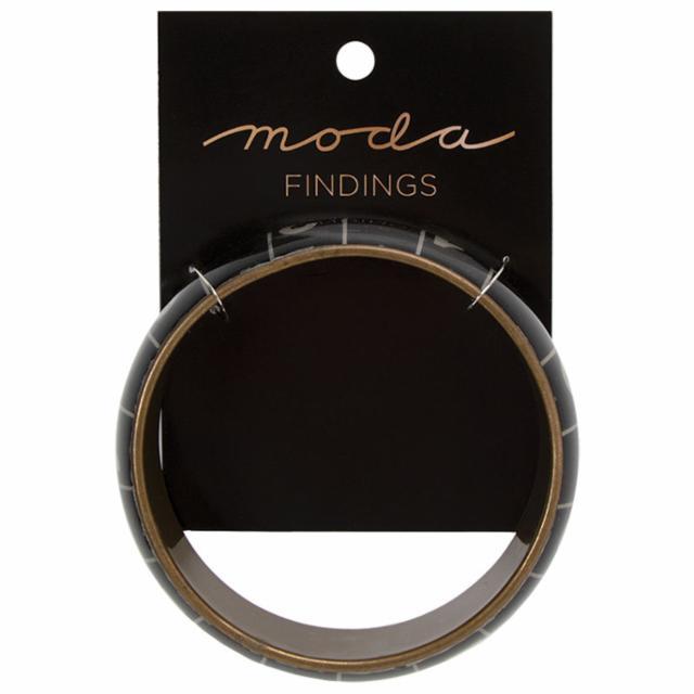Bangle Tape Measure Black Bracelet