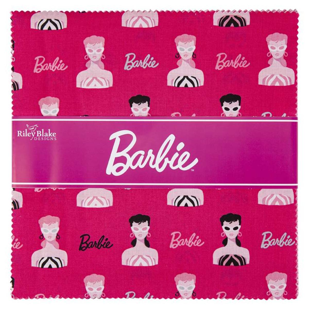 Riley Blake Layer Cake - Barbie