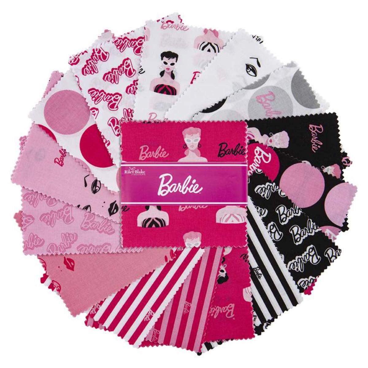 Riley Blake Charm Pack - Barbie