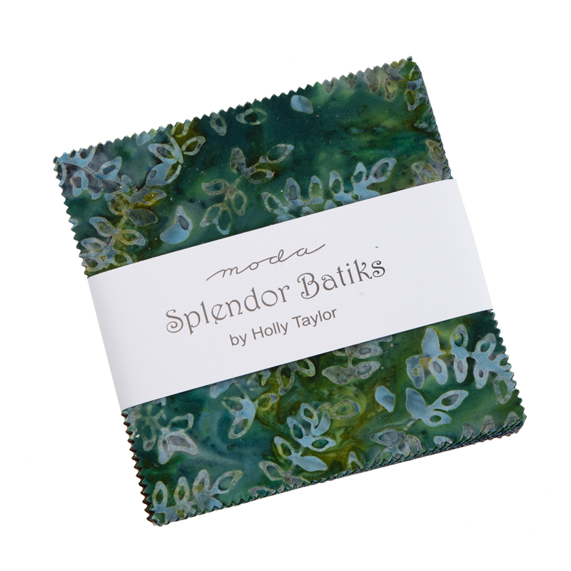 Moda Charm Pack - Splendor Batiks by Holly Taylor