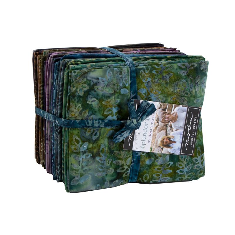 Moda Fat Quarter Bundle - Splendor Batiks by Holly Taylor
