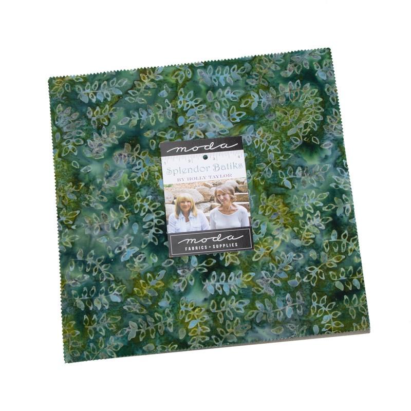 Moda Layer Cake - Splendor Batiks by Holly Taylor