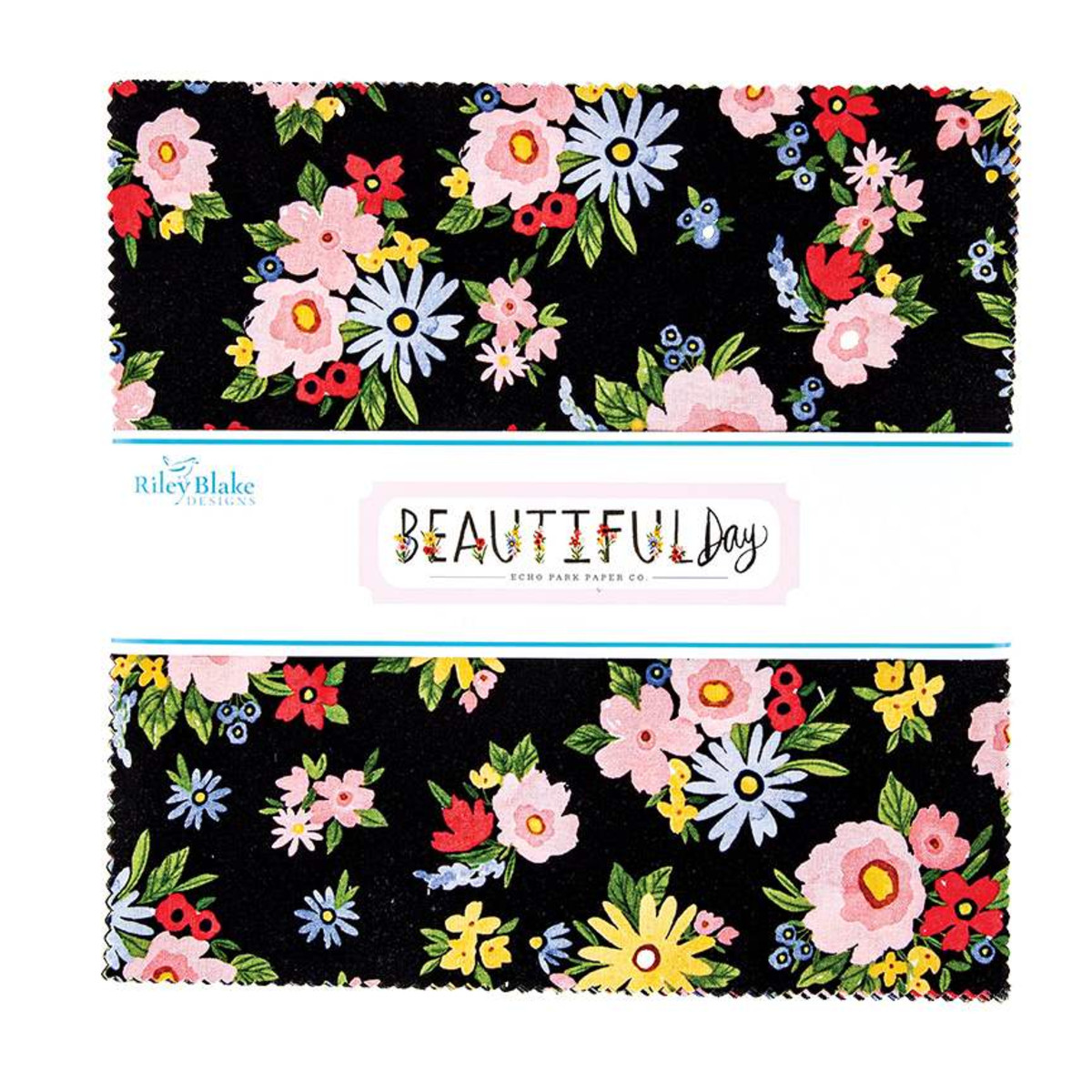 Riley Blake Layer Cake - Beautiful Day by Echo Park Paper Co