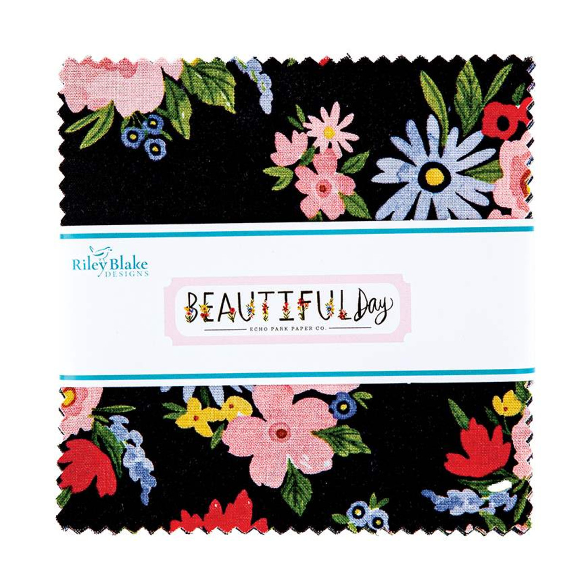 Riley Blake Charm Pack - Beautiful Day by Echo Park Paper Co