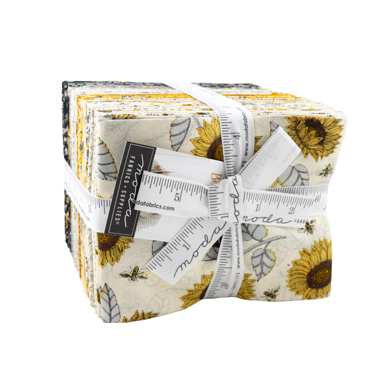 Moda Fat Quarter Bundle - Bee Grateful by Deb Strain