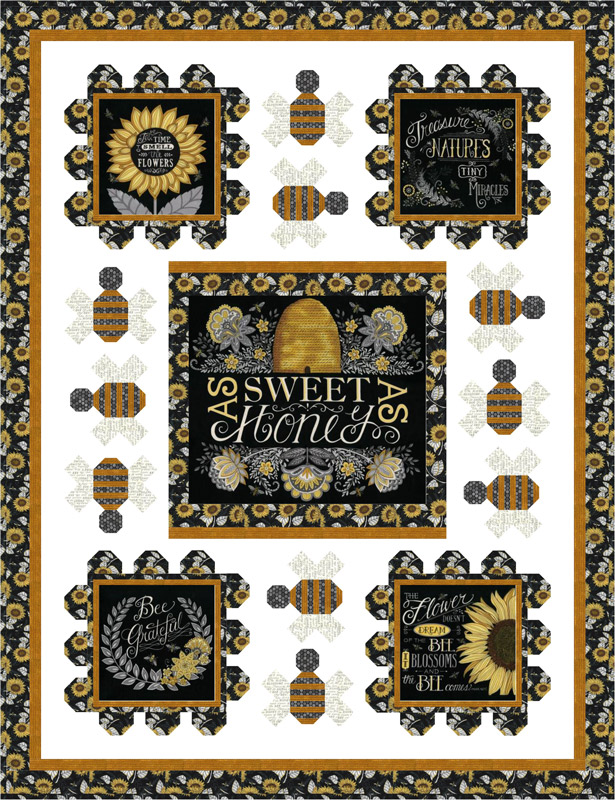Moda Kit - Bee Grateful by Deb Strain